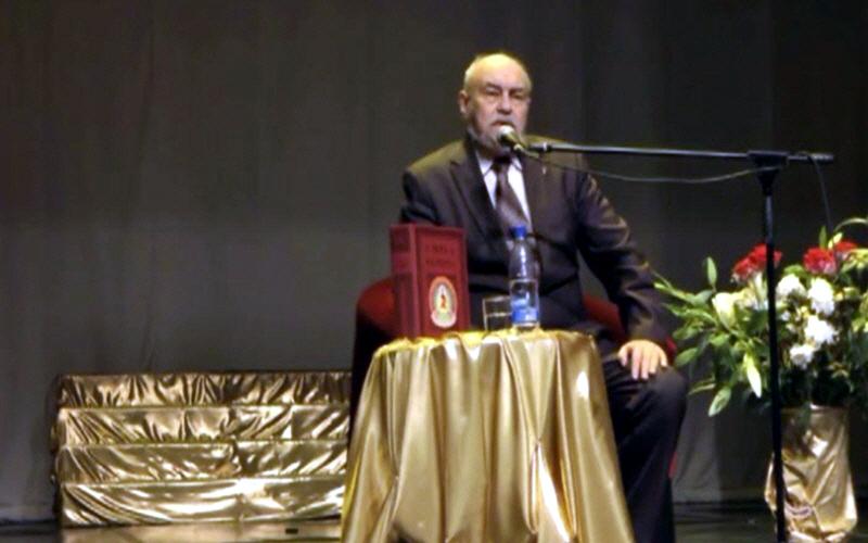 Валерий Чудинов на фестивале Небесная Русь в Екатеринбурге 18 декабря 2011 года