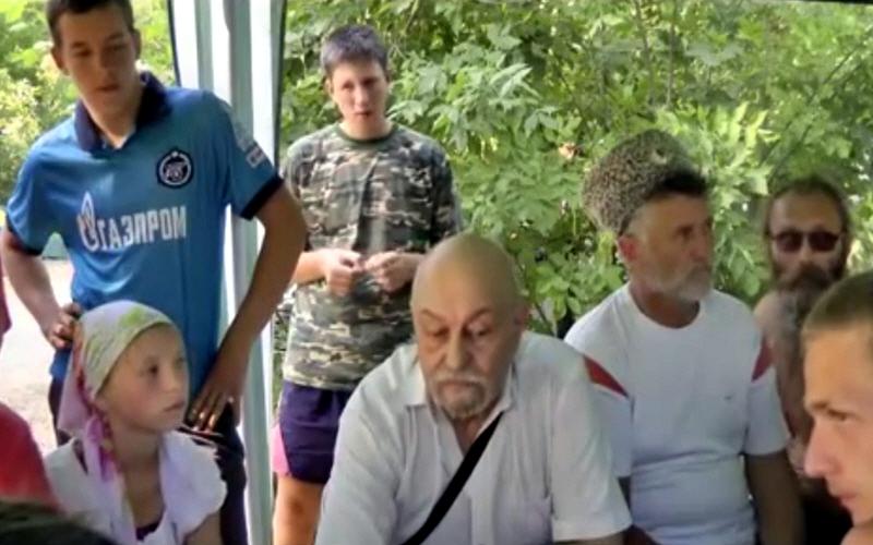 Валерий Чудинов на фестивале казачьей культуры Золотой Щит 1 августа 2014 года