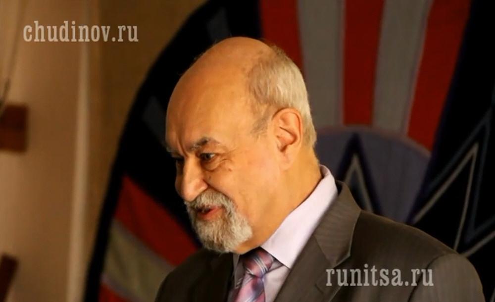 Лекция Валерия Чудинова про Русские Руны в Москве 26 октября 2014 года