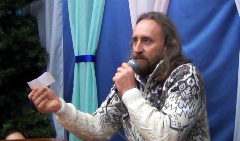 Валерий Синельников в Севастополе 8 февраля 2014 года
