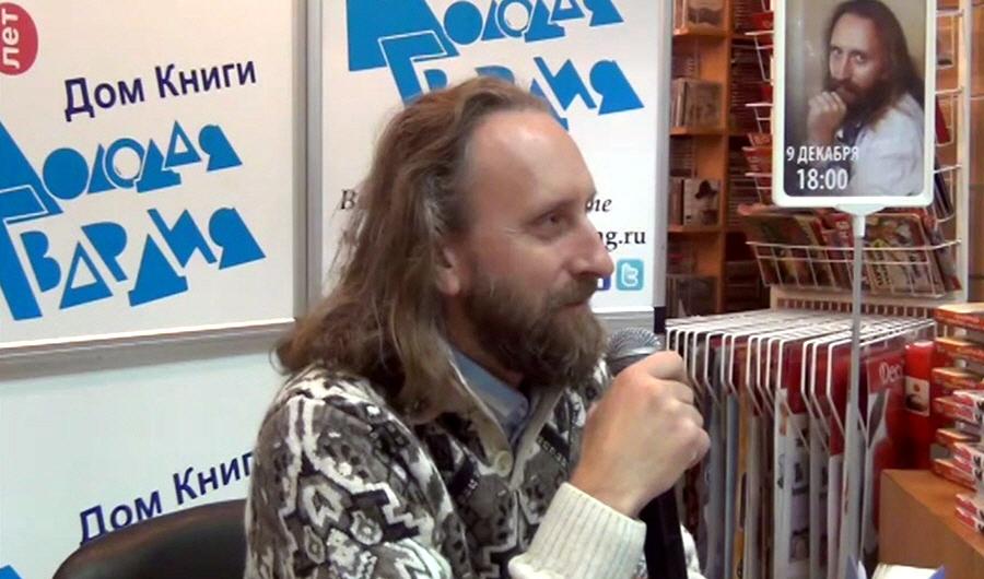 Валерий Синельников в доме книги Молодая гвардия 9 декабря 2013 года