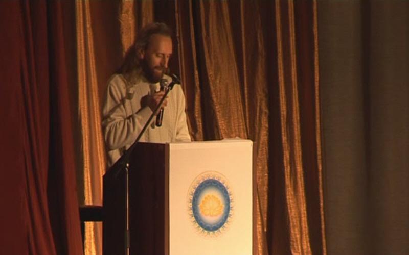 Валерий Синельников на Конгрессе Ведической культуры ариев-индославов