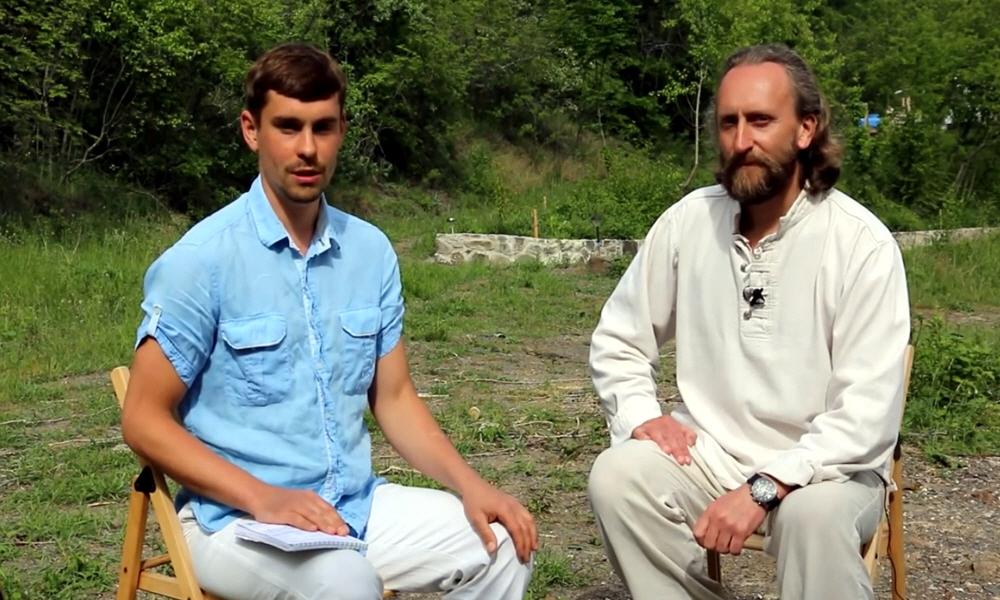 Интервью c Валерием Синельниковым в Крыме в мае 2014 года