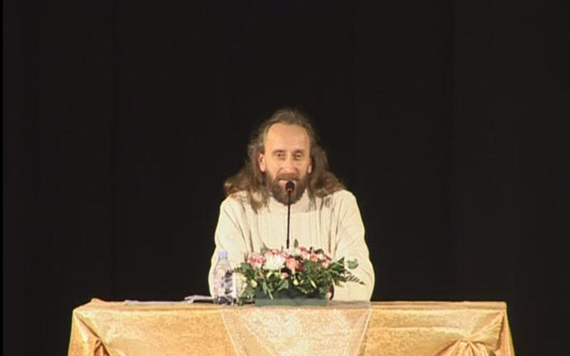 Лекция Валерия Синельникова в Санкт-Петербурге 26 ноября 2011 года