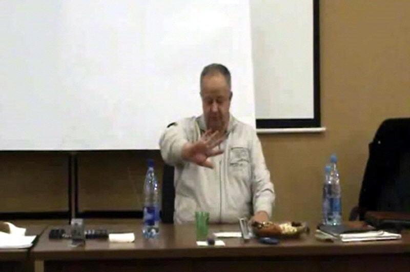 Виктор Минин в Алмате 28 и 29 января 2012 года