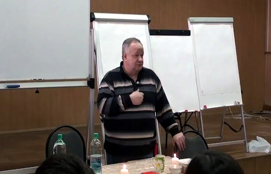 Виктор Минин в Волгограде 26 и 27 марта 2011 года