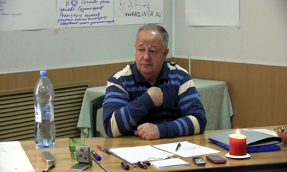 Виктор Минин в Екатеринбурге 17 февраля 2014 года