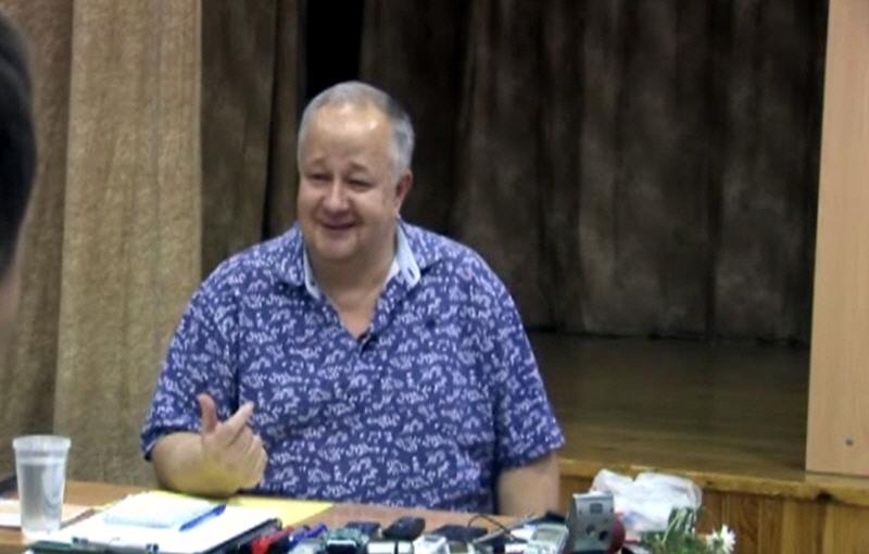Виктор Минин в Королёве 23 сентября 2012 года