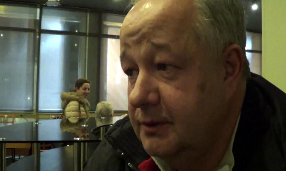 Виктор Минин в Москве 12 марта 2014 года