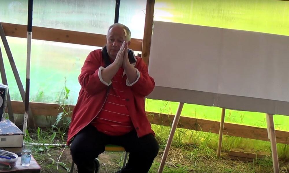 Встреча с Виктором Михайловичем Мининым в поселении Родное 13 августа 2016 года