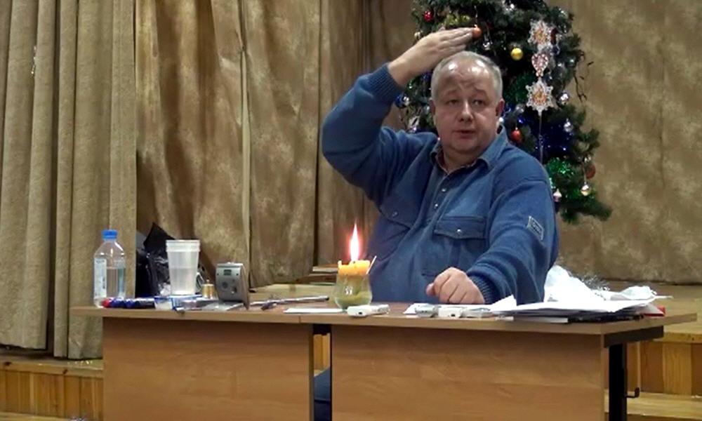 Лекция Минина в Королёве