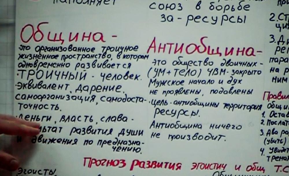 По каким принципам работают общины и антиобщины
