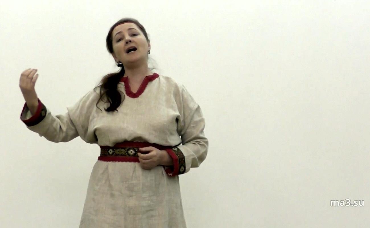 Светлана Жижина - Народное пение