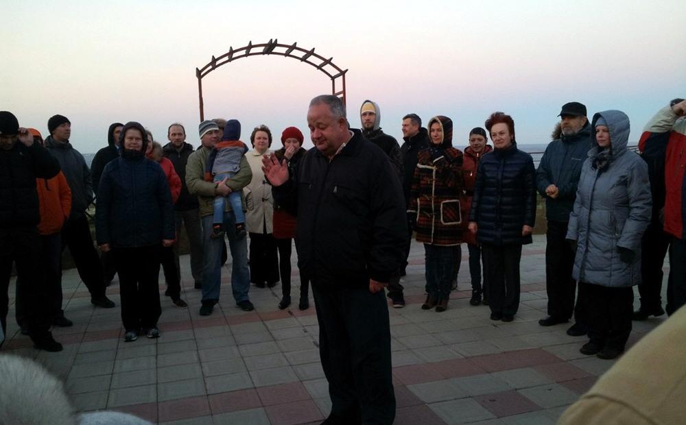 Семинар Виктора Минина в Анапе в ноябре 2013 года
