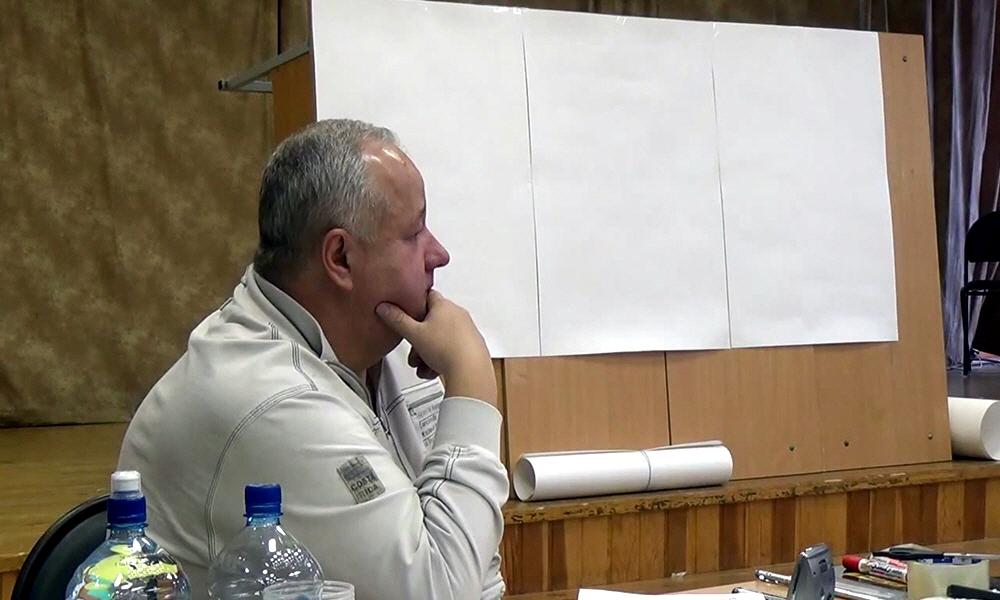 Семинар Виктора Минина в Королёве 15 декабря 2013 года