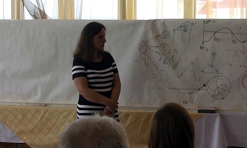 Участница семинара Виктора Минина