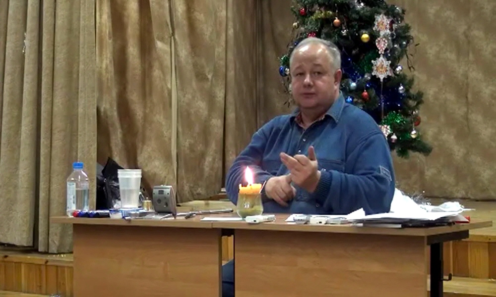 Cеминар Виктора Минина в Королёве 23 декабря 2012 года