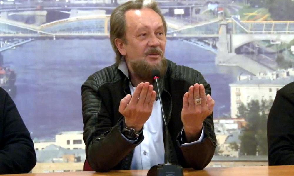Виталий Сундаков на заседании московского клуба Ценности нации и национальные интересы России