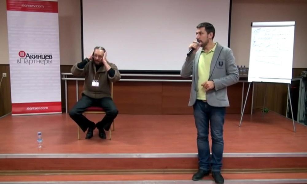 Виталий Сундаков на конференции Traveliving в Москве 3 ноября 2012 года