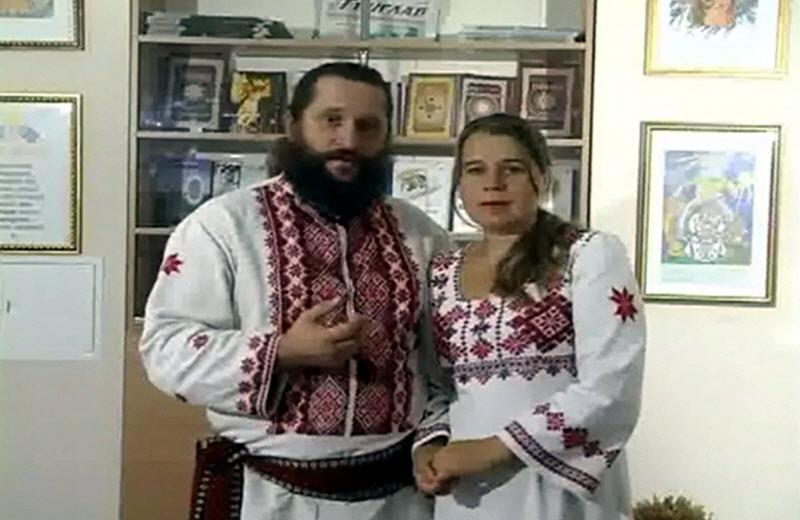 Владимир Куровский с супругой