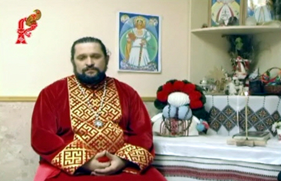 Интервью Владимира Куровского телеканалу Русичи в январе 2012 года