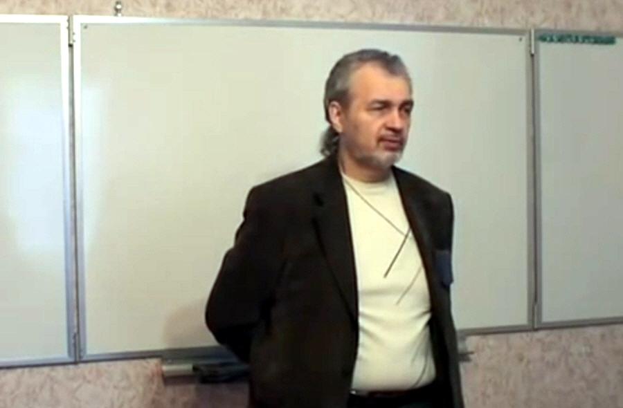 Владимир Шемшук в Одинцово в ноябре 2011 года