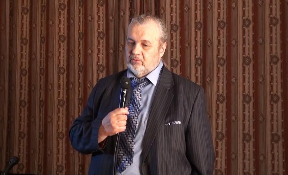 Владимир Шемшук в Центральном Доме Литераторов в Москве 14 мая 2014 года