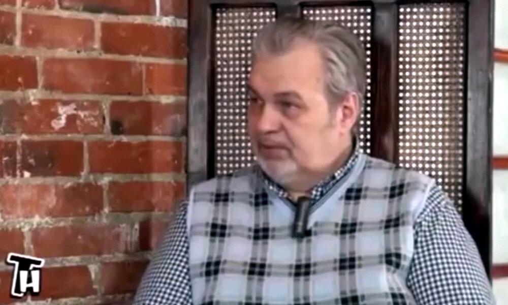 Владимир Шемшук в студии проекта «Тайнам Нет» в январе 2014 года