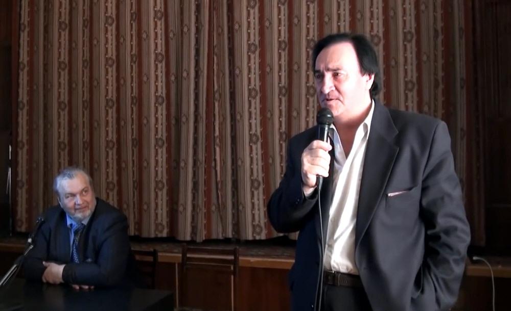 Олег Ланов - академик, профессор, доктор философии, президент Международного Университета проблем мироздания Логос