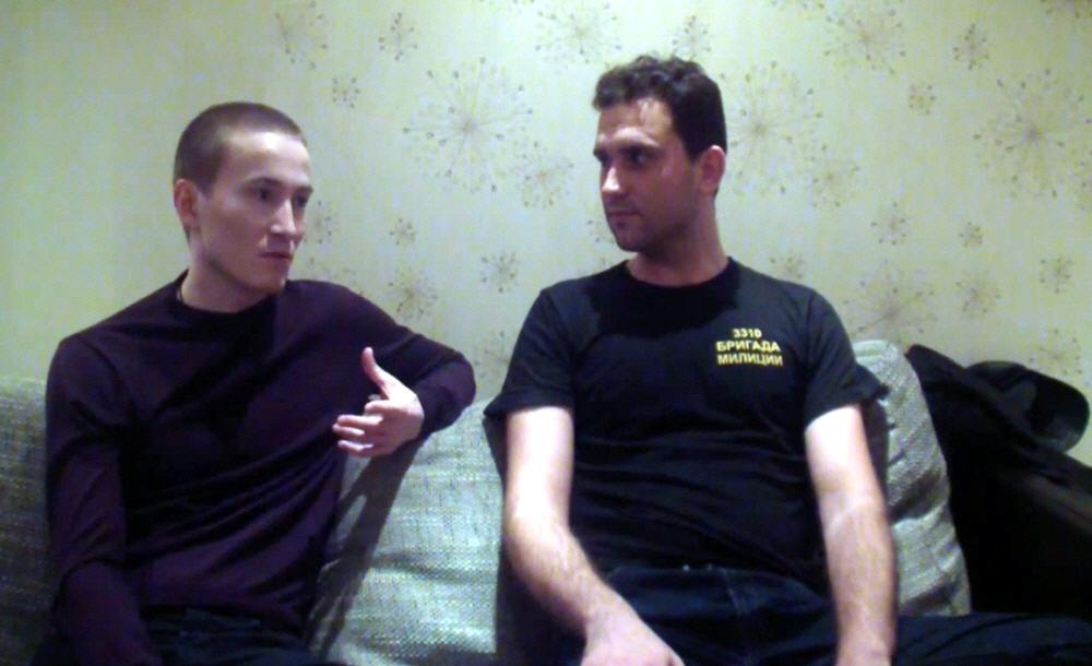 Марат Ульмасбаев и Александр Серко