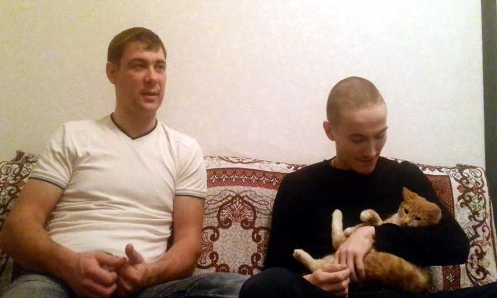 Марат Ульмасбаев и Александр Шишкин