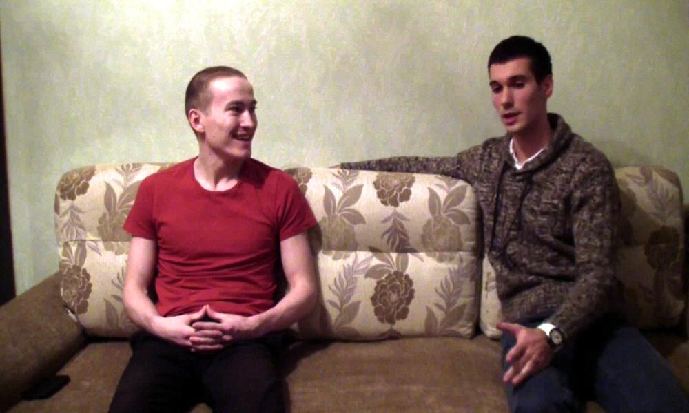 Марат Ульмасбаев и Алексей Лесниченко