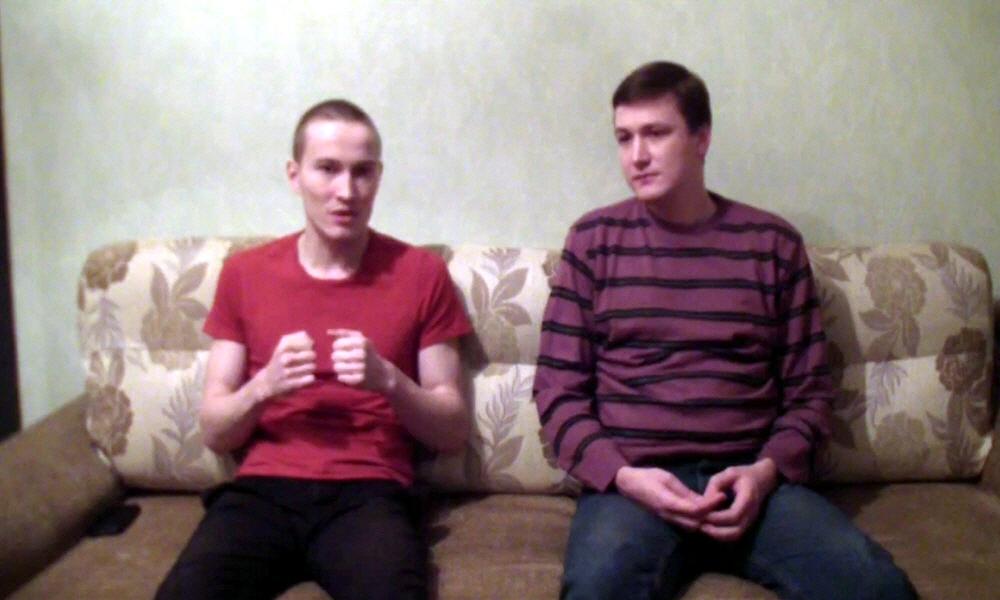 Марат Ульмасбаев и Андрей Самарин