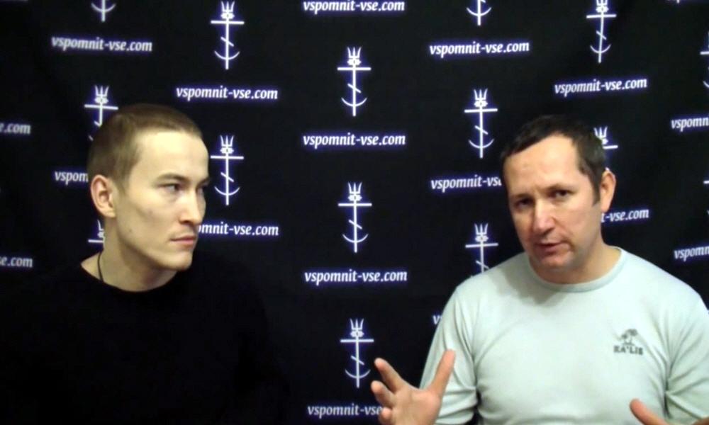 Марат Ульмасбаев и Роман Бурлаков