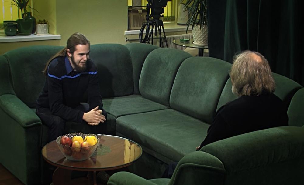 Андрей Ивашко в тележурнале Сергея Стрижака Здесь и Сейчас 19 марта 2013 года