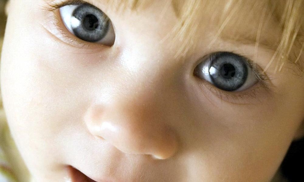 Взгляд славянского ребёнка